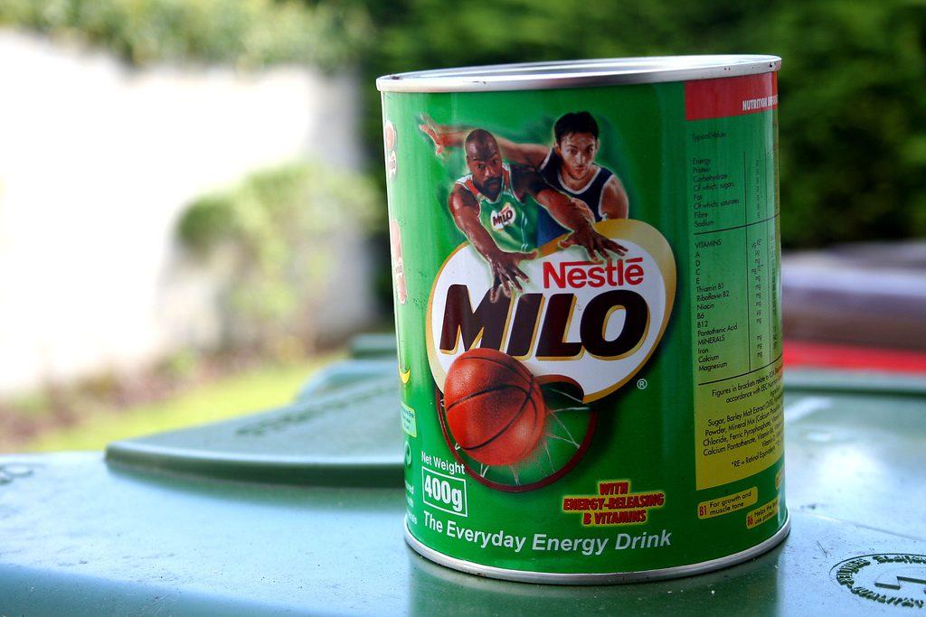 Inilah Minuman Coklat Bubuk Milo yang Menyegarkan Bagi Anak